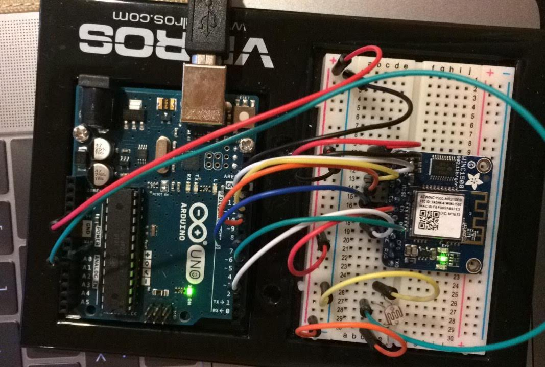 PUSH SENSOR DATA ONTO ADAFRUIT IO | SENSING THE CITY